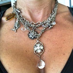 Lucky Multi-Strand Choker Necklace